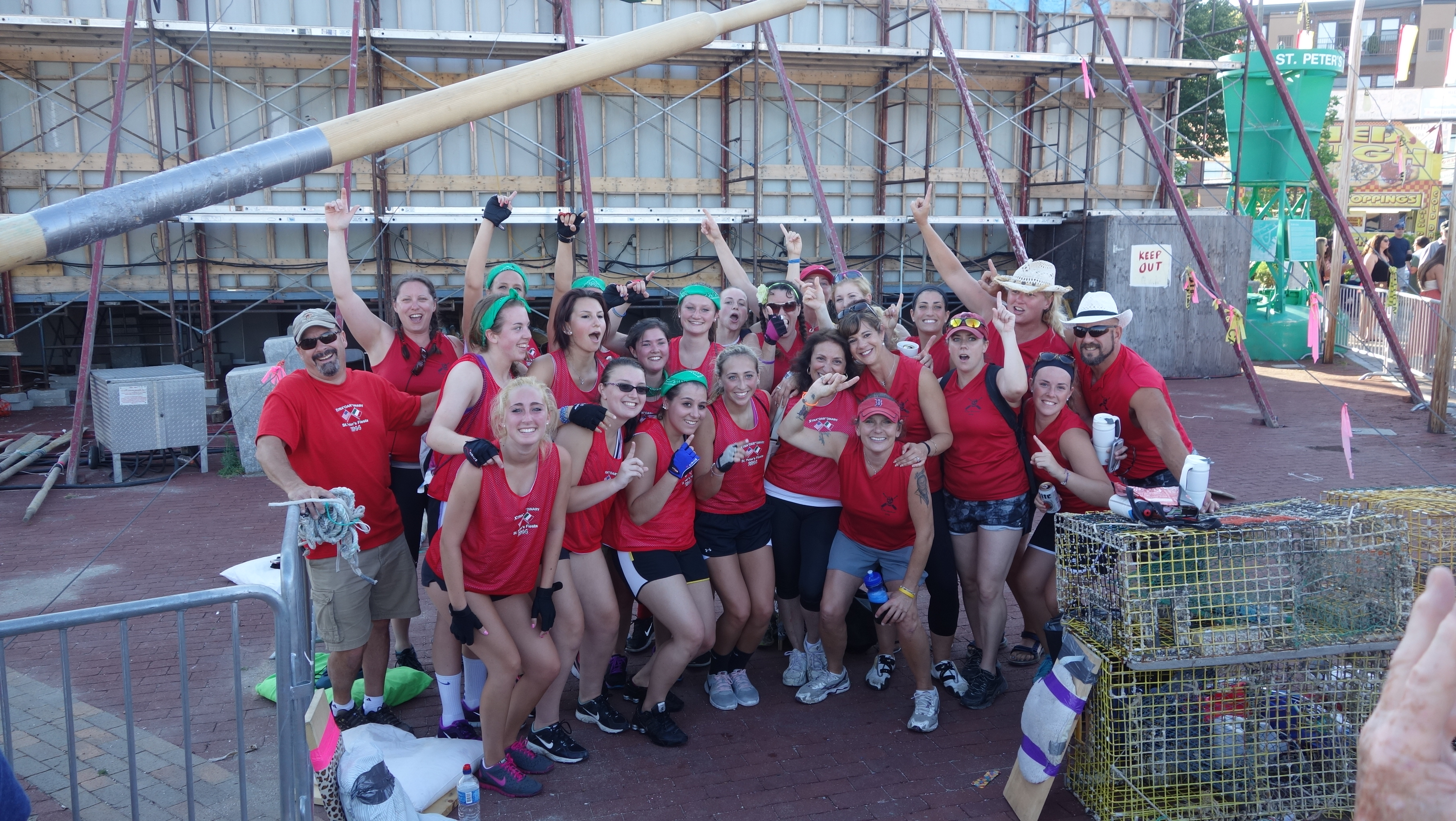 Amanda Race St. Peter's Fiesta 2014 Camps! 338