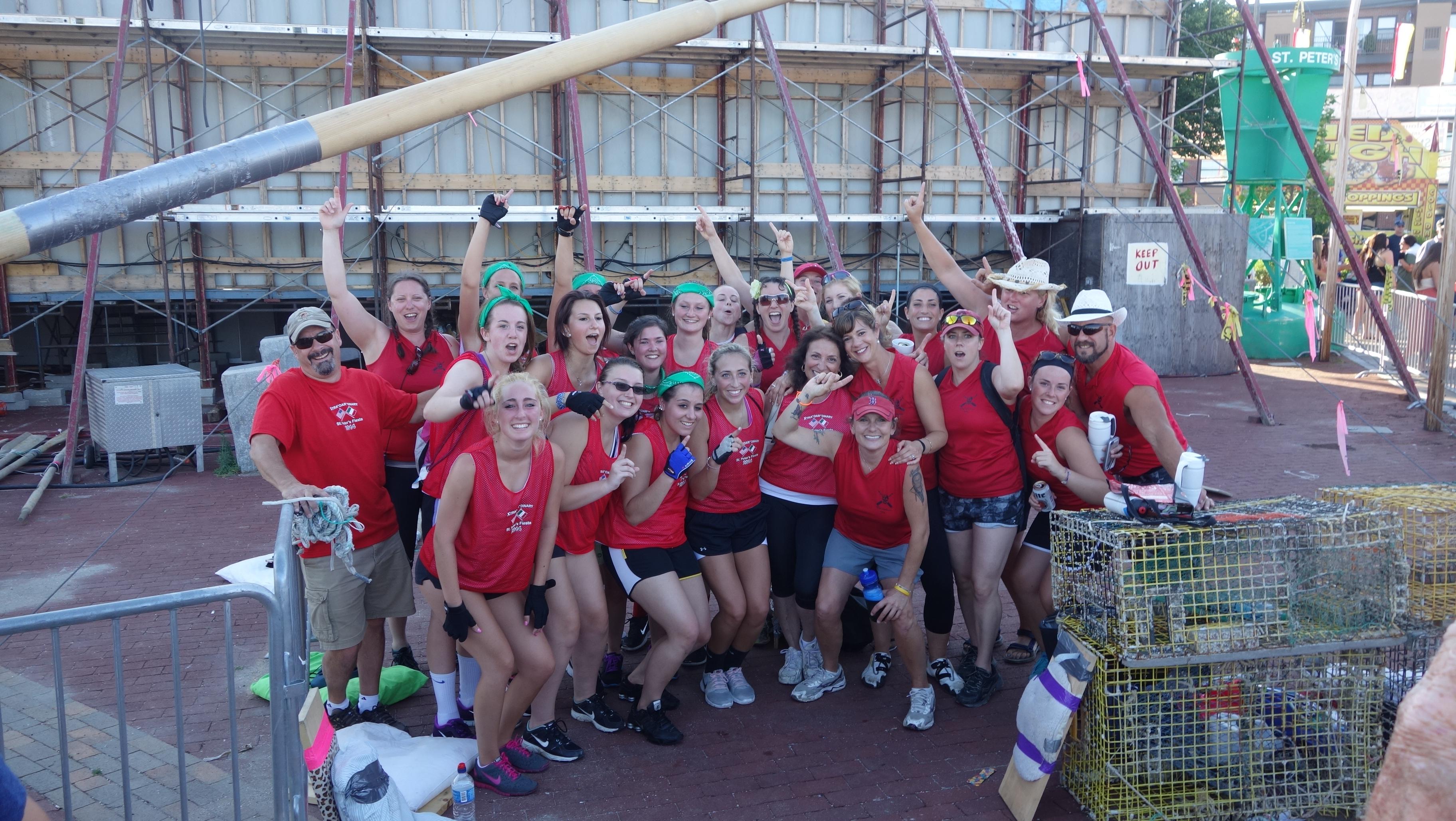 Amanda Race St. Peter's Fiesta 2014 Camps! 339