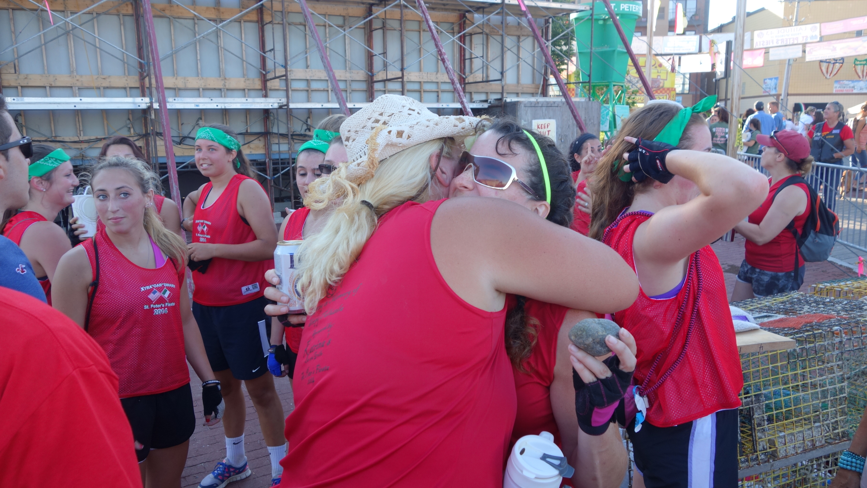 Amanda Race St. Peter's Fiesta 2014 Camps! 348