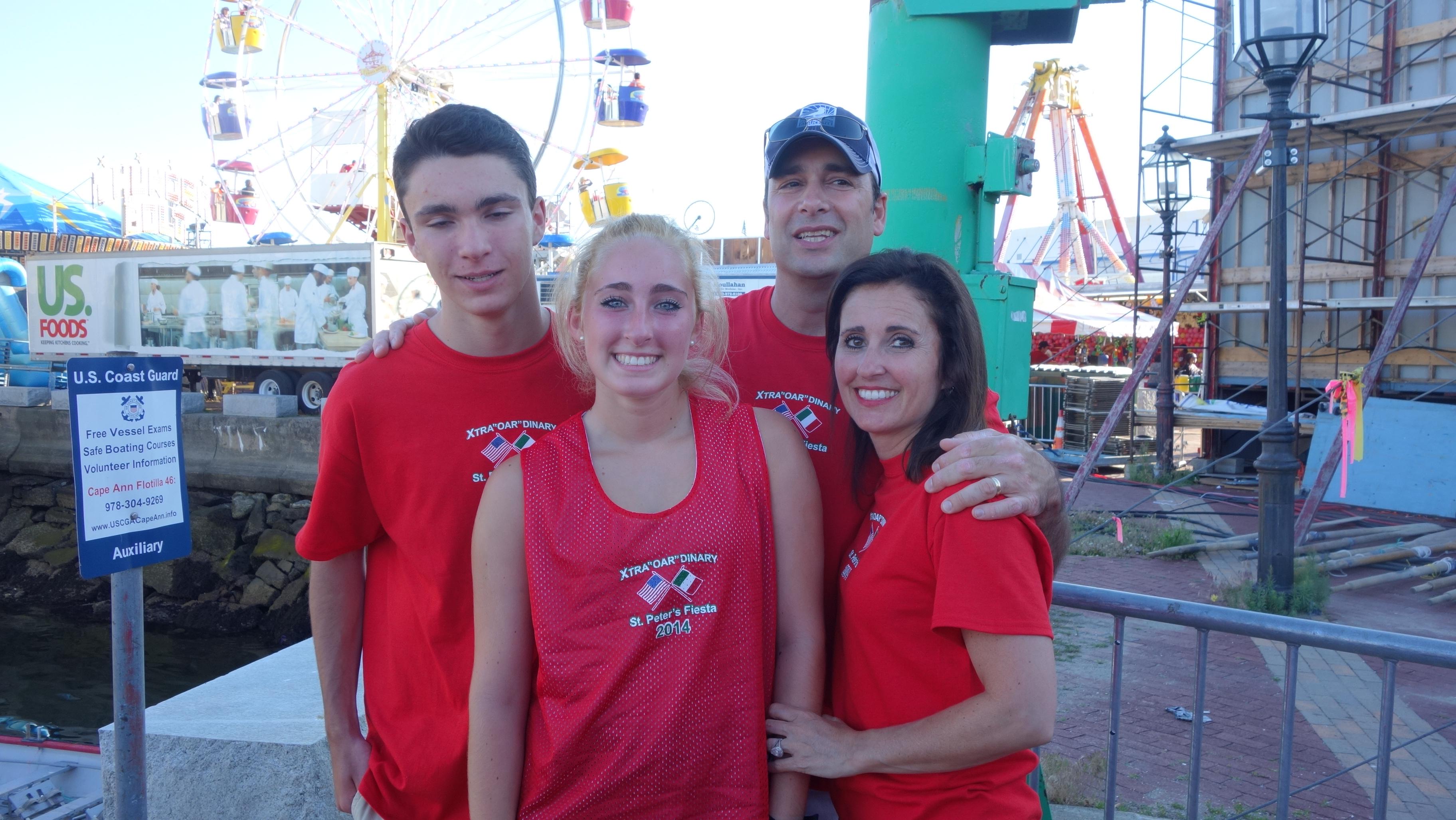 Amanda Race St. Peter's Fiesta 2014 Camps! 355