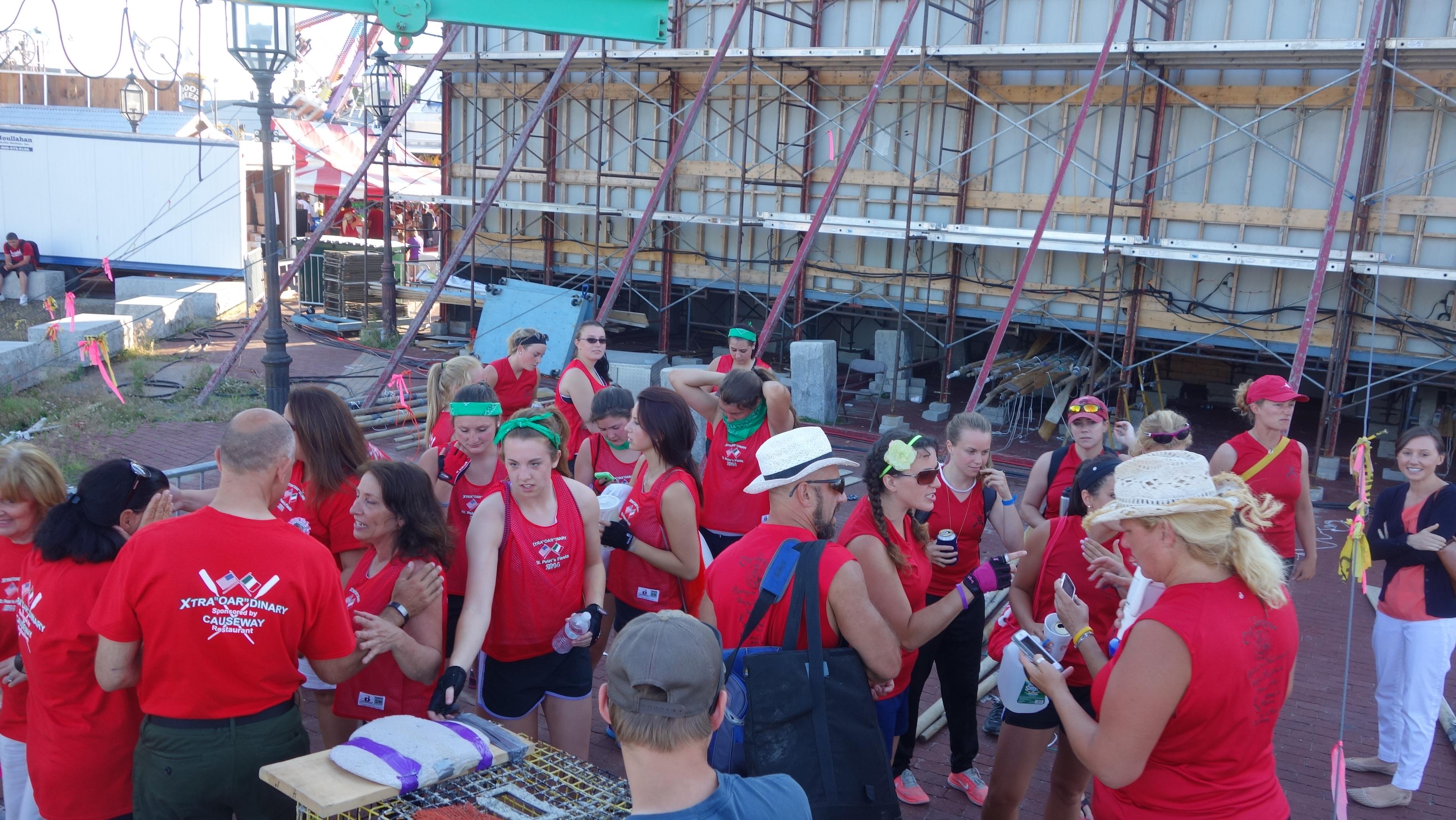 Amanda Race St. Peter's Fiesta 2014 Camps! 385