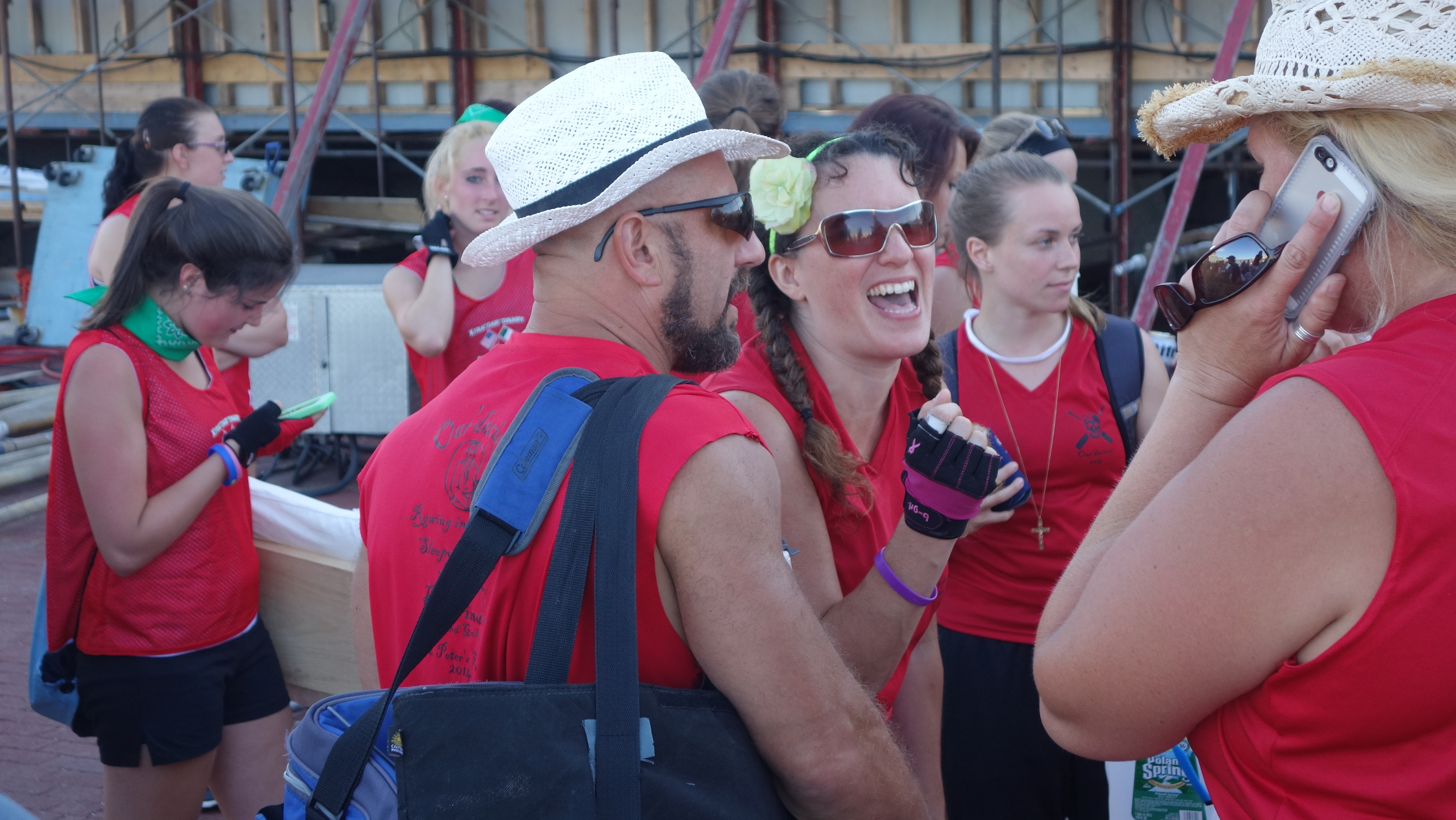 Amanda Race St. Peter's Fiesta 2014 Camps! 387