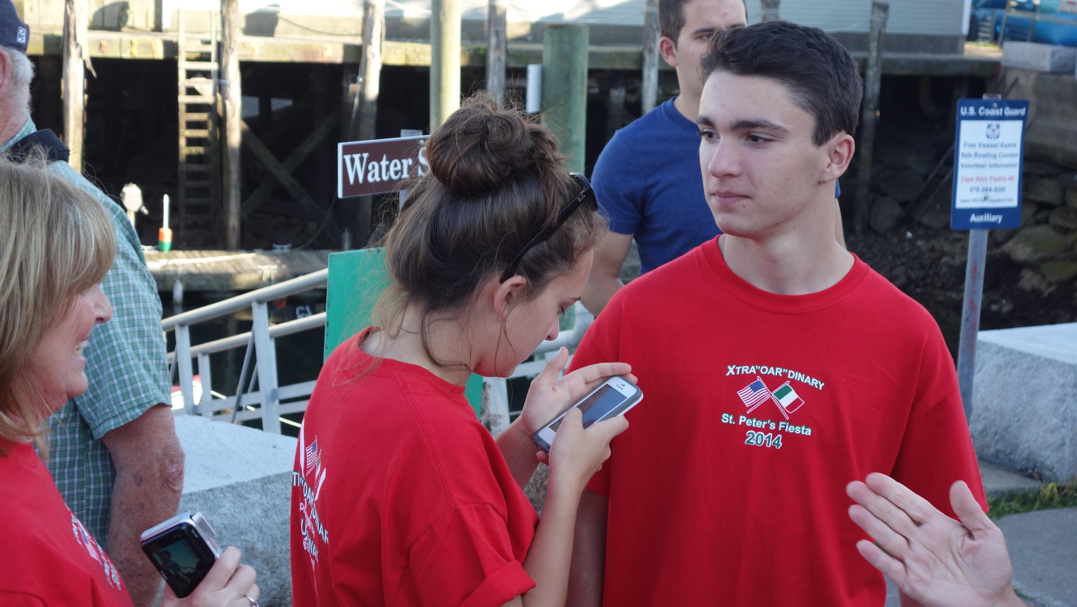 Amanda Race St. Peter's Fiesta 2014 Camps! 388