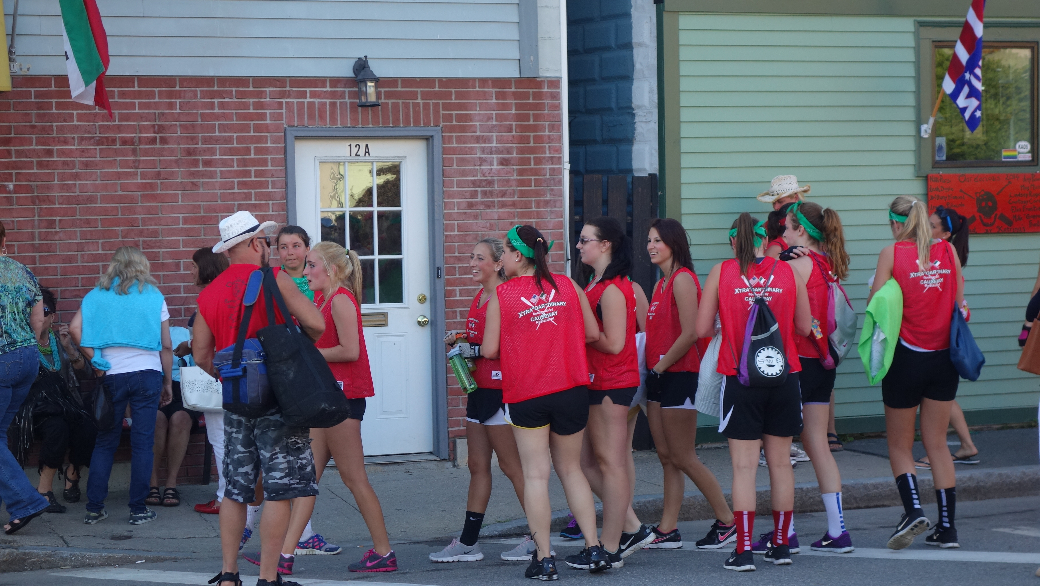 Amanda Race St. Peter's Fiesta 2014 Camps! 391