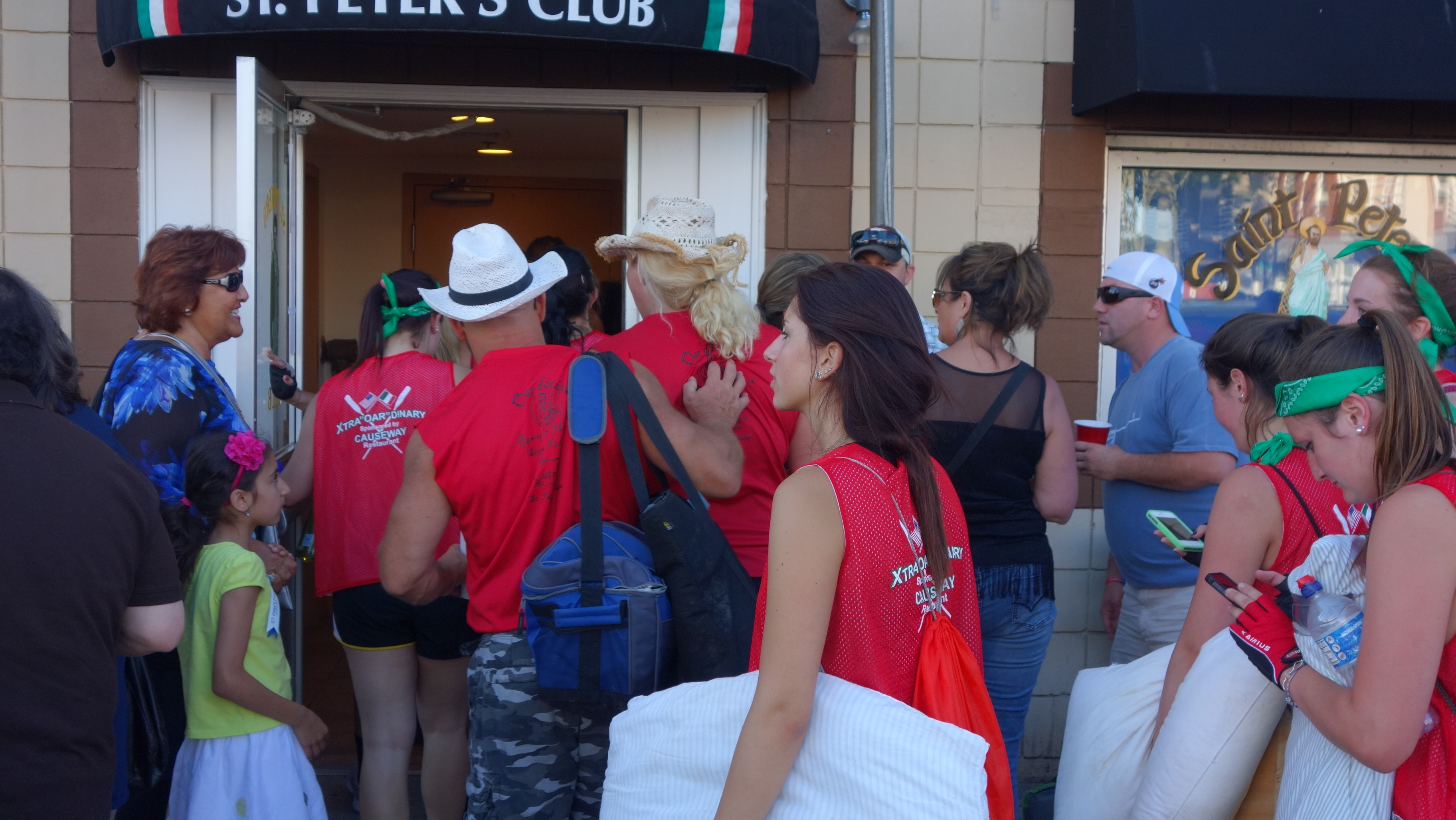 Amanda Race St. Peter's Fiesta 2014 Camps! 393