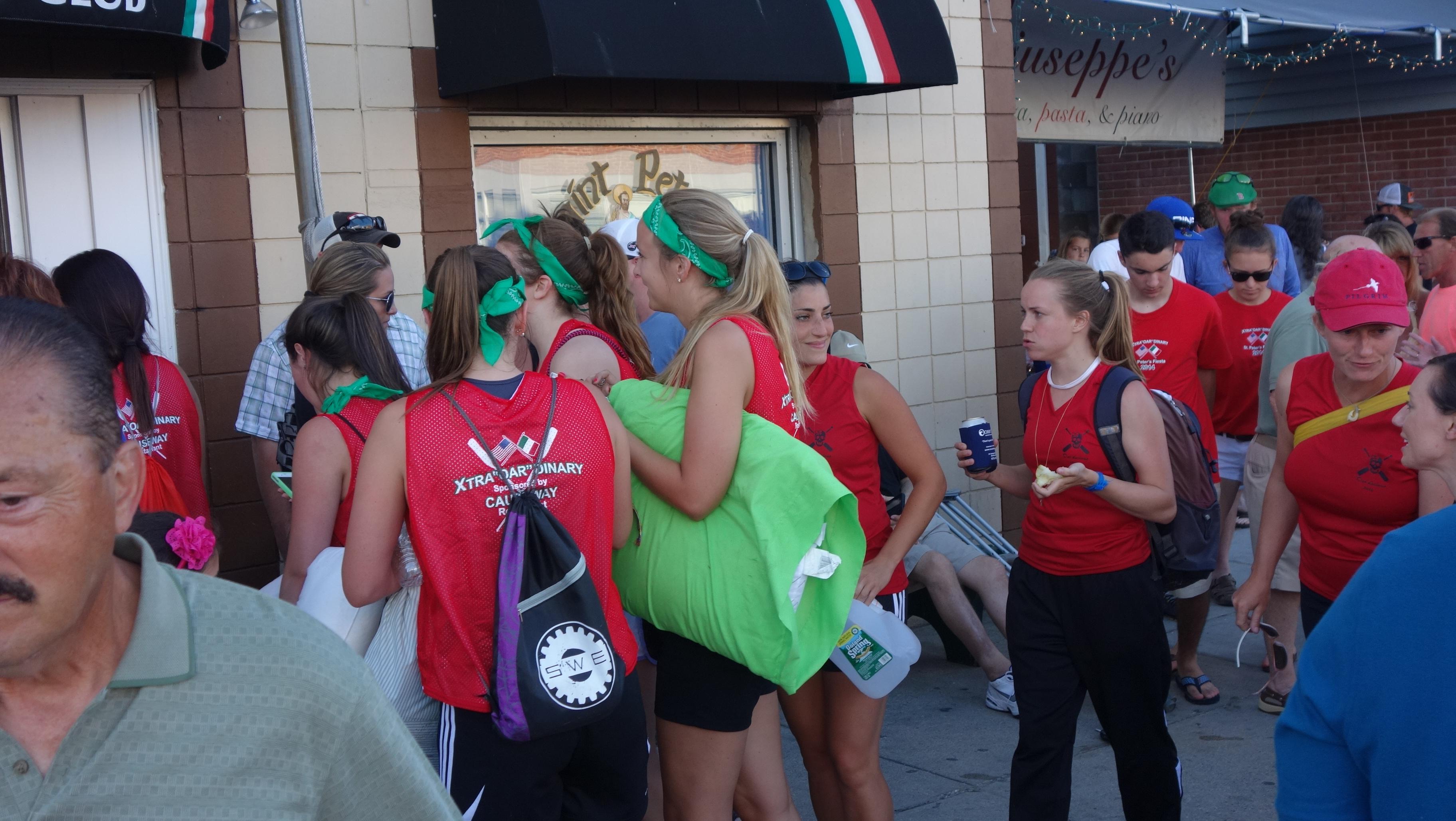 Amanda Race St. Peter's Fiesta 2014 Camps! 394