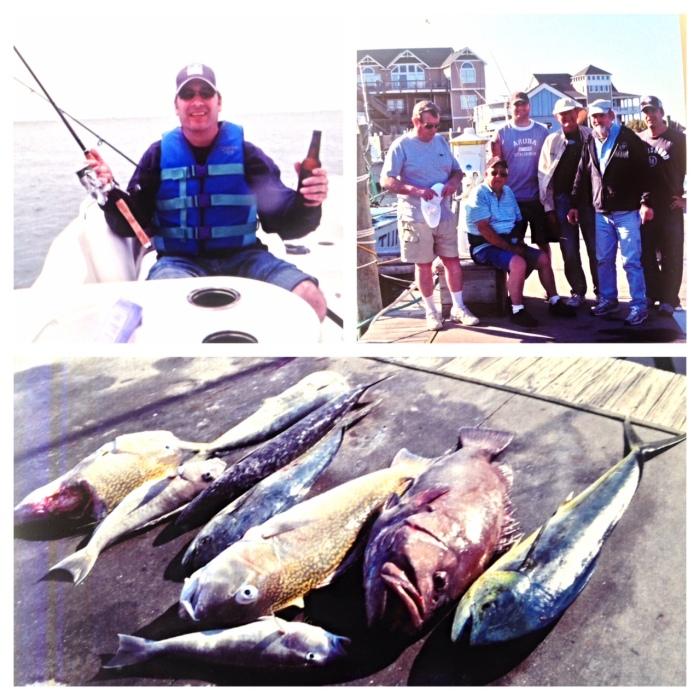 barry fishing trip NC 2014