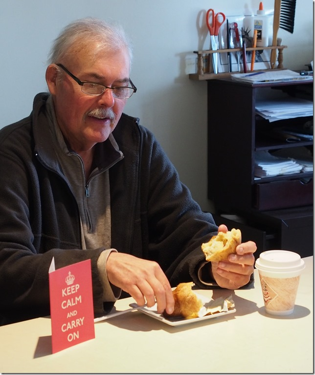 Fred Bodin with popover