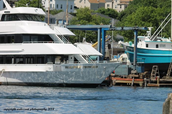 June 16, 2014 The Beauport Princess dock at Cruiseport