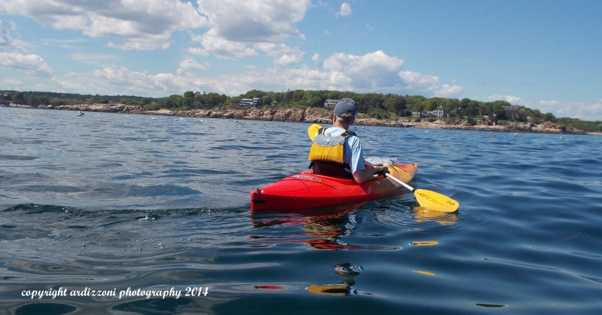 June 7, 2014 Rick Kayaking in Magnolia Harbor