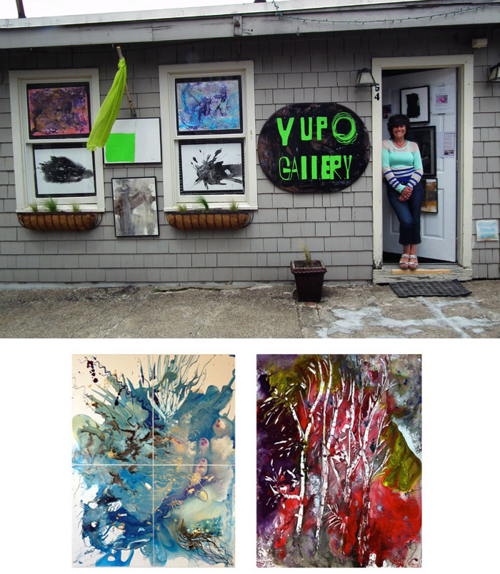 Mug up at yupo gallery