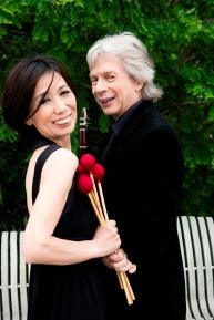 Richard Stoltzman and Mika Yoshida credit Lisa Marie Mazzuco