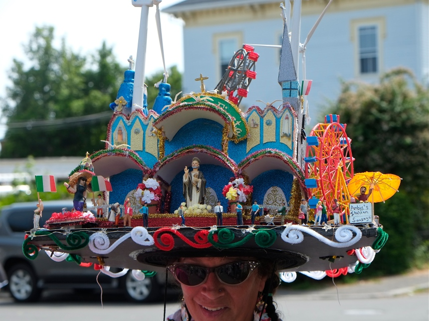 Saint Peter' Fiesta  ©Kim Smith 2014 Hat DetailJPG