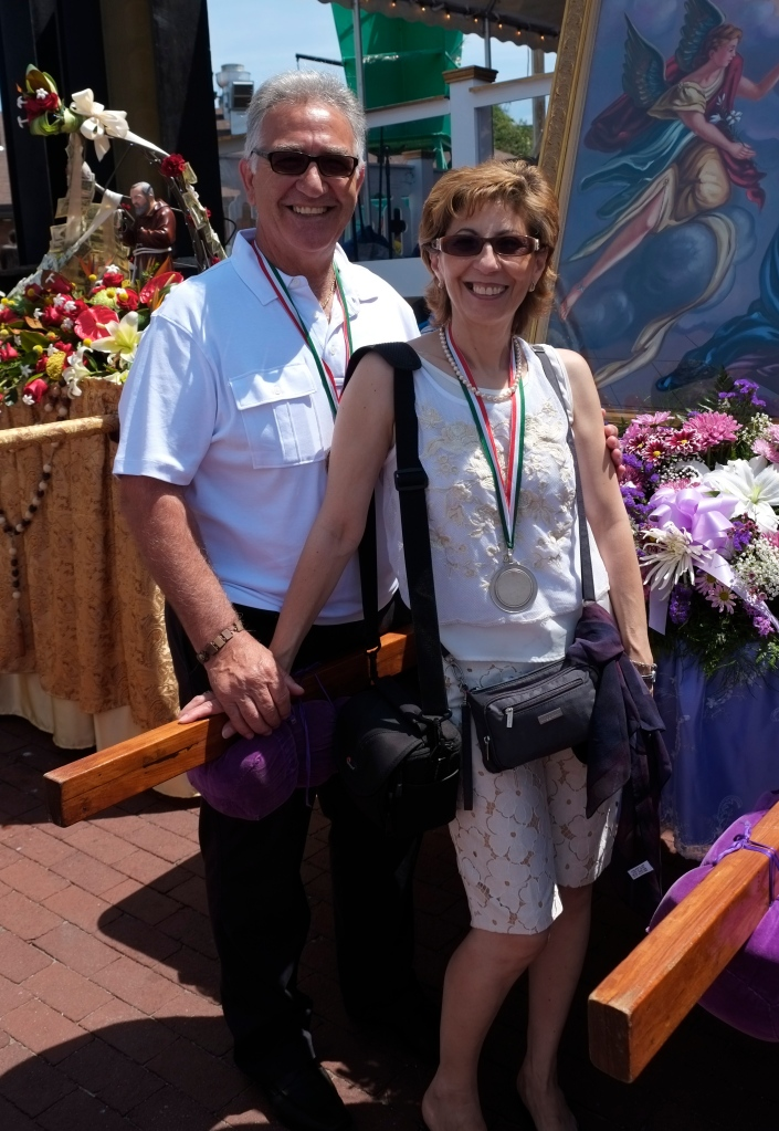 Saint Peter' Fiesta  Frank and Nina Groppo©Kim Smith 2014-10