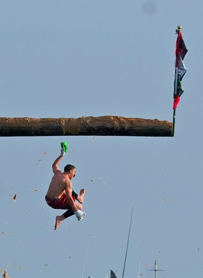 Saint Peter's Fiesta Free Falling ©Kim Smith 2014 -13