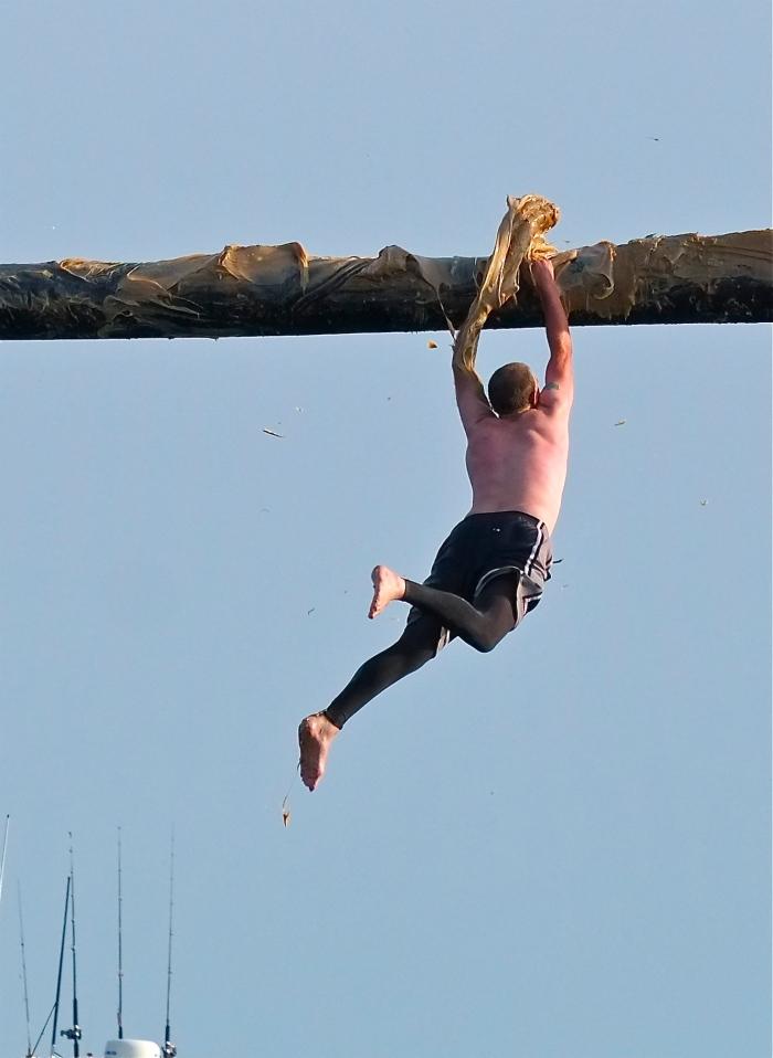 Saint Peter's Fiesta Free Falling ©Kim Smith 2014 19
