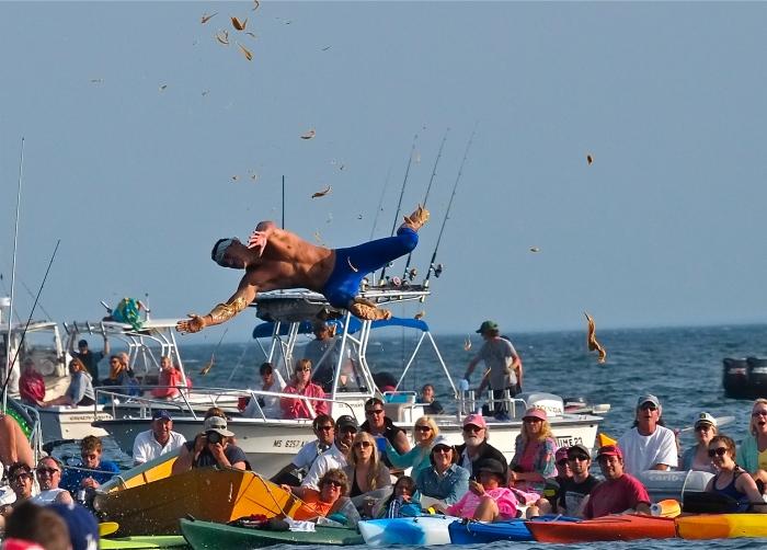 Saint Peter's Fiesta Free Falling ©Kim Smith 2014 -7