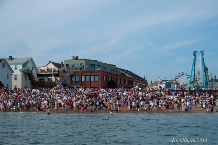 Saint Peter's Fiesta Greasy Pole Pavilion Beach ©Kim Smith 2014