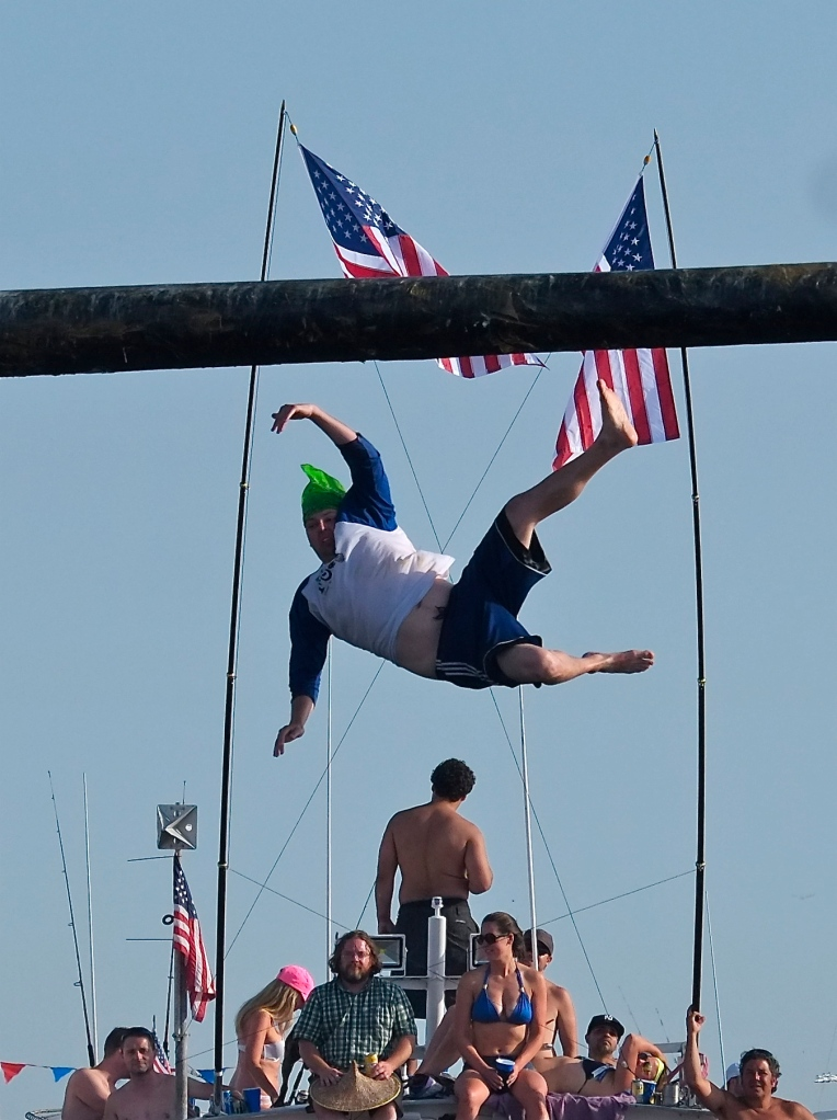 Saint Peter's Fiesta Greasy Pole Saturday ©Kim Smith 2014 -11