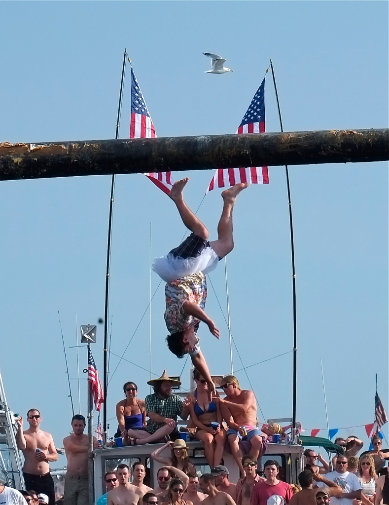 Saint Peter's Fiesta Greasy Pole Saturday ©Kim Smith 2014 -6