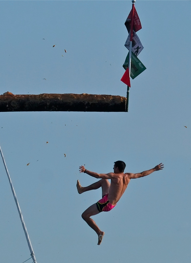 Saint Peter's Fiesta Greasy Pole Saturday ©Kim Smith 2014 -7