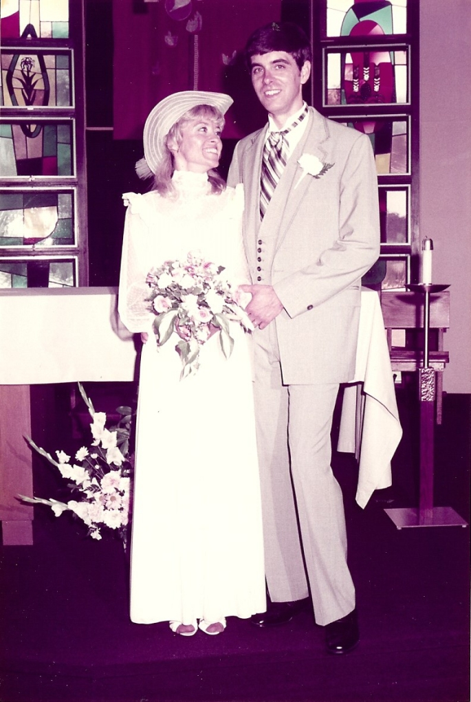scan wedding Rick and Donna 30 years