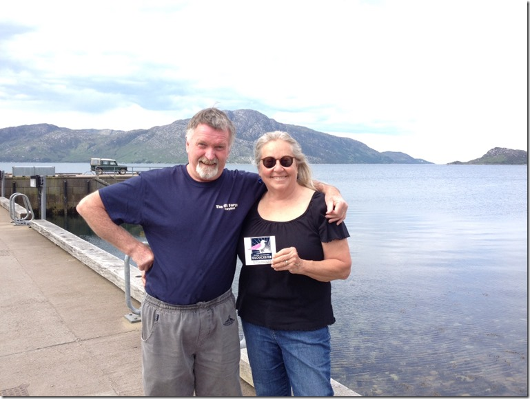 The Storys Represent in Inverie, Scotland