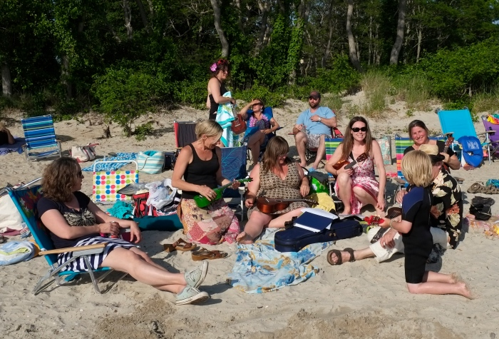 Ukelists Niles Beach ©Kim Smith 2014JPG