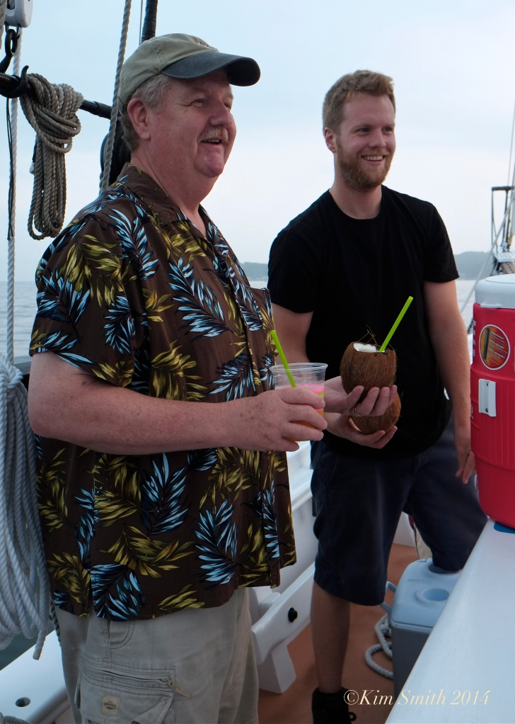 Bob and Doug Ryan Schooner Lannon ©Kim Smith 2014 copy