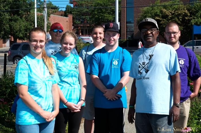 Clean Team Gloucester YMCA ©Kim Smith 2014
