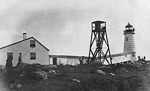 Eastern point lighthouse 1832