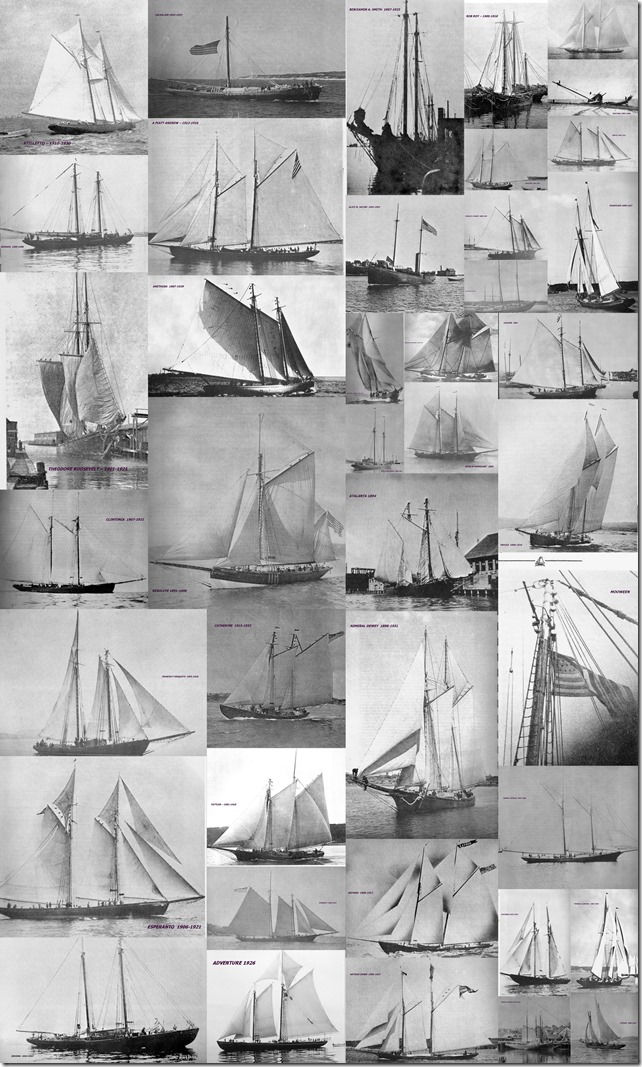Fast and Able Schooners