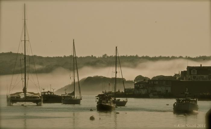 Gloucester Harbor Fog ©Kim Smith 2014