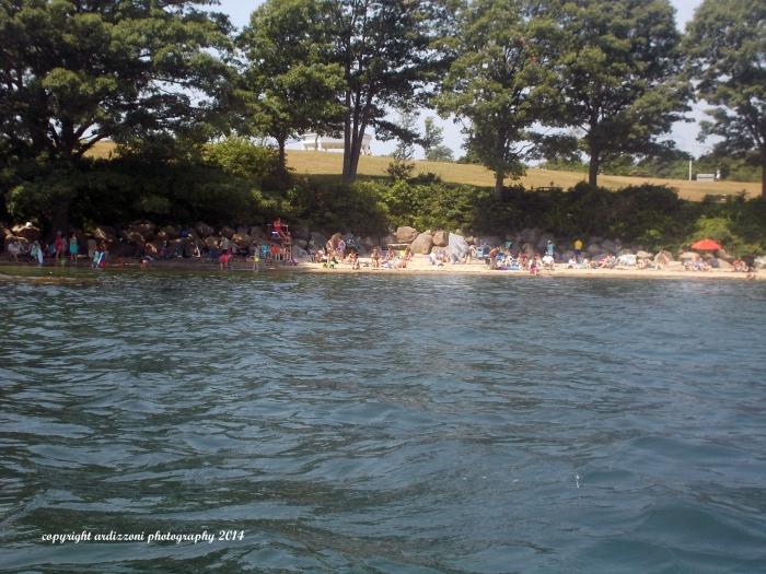 July 13, 2014 kayaking by Half Moon Beach Sunday