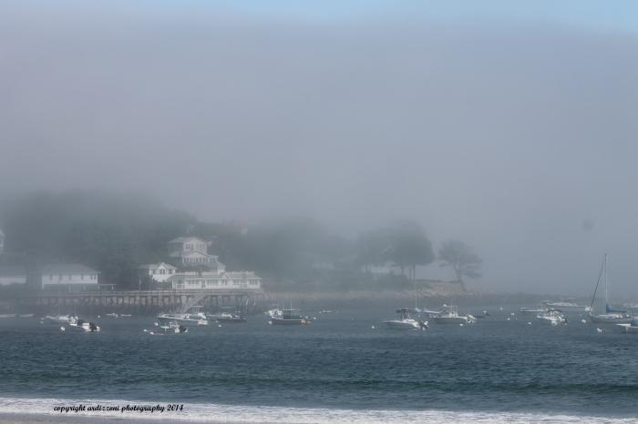 July 21, 2014 Fog over Magnolia Harbor
