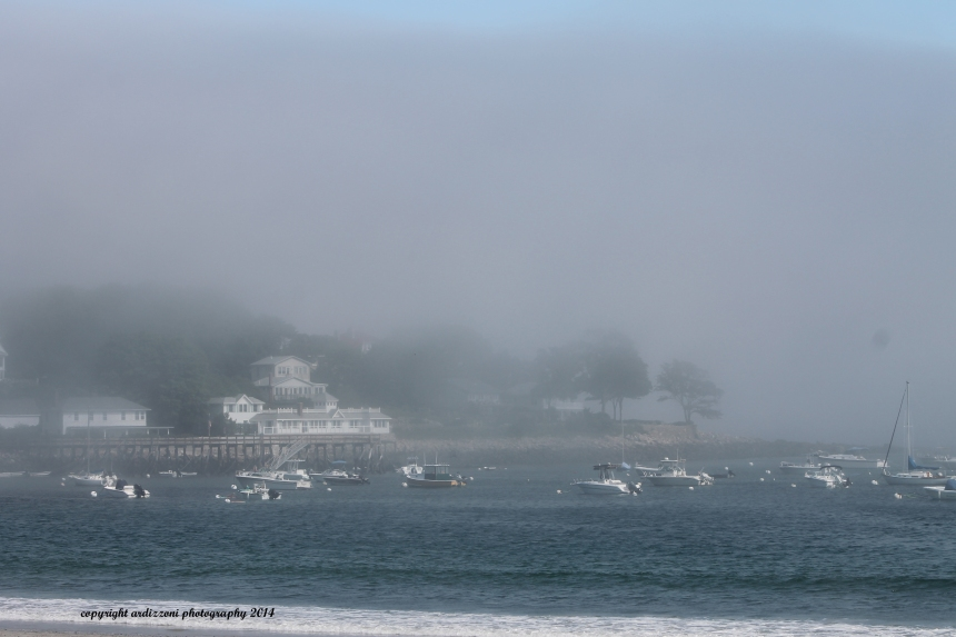 July 21, 2014 Fog over Magnolia Harbor