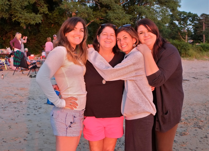 Katie, Susan, Lyla, & Katie ©Kim Smith 2014