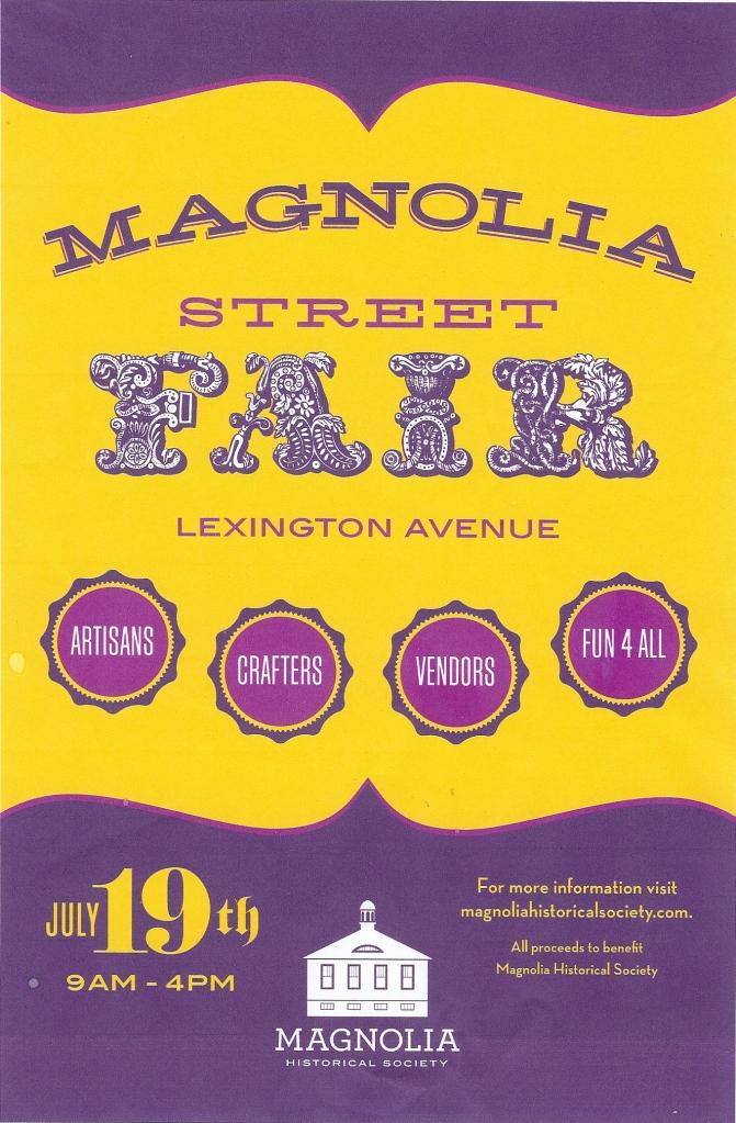 Magnolia Street Fair 2