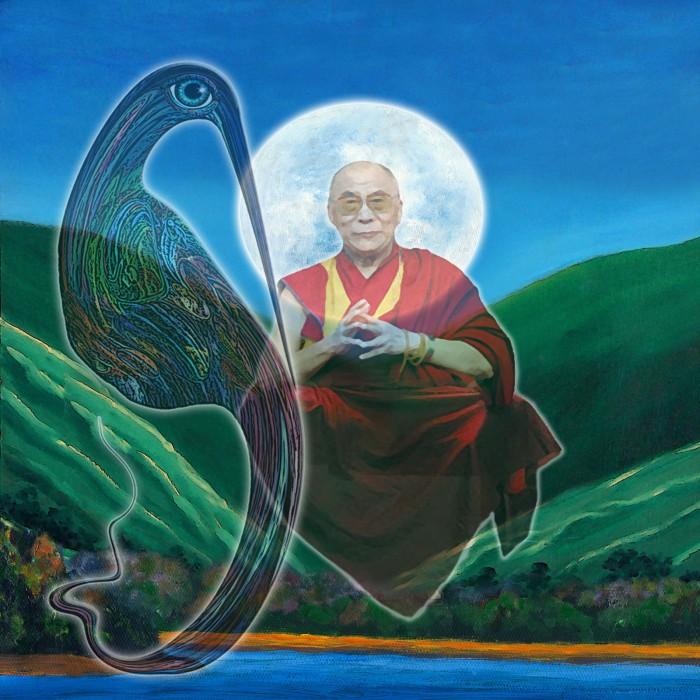 mutagle and the dalai lama