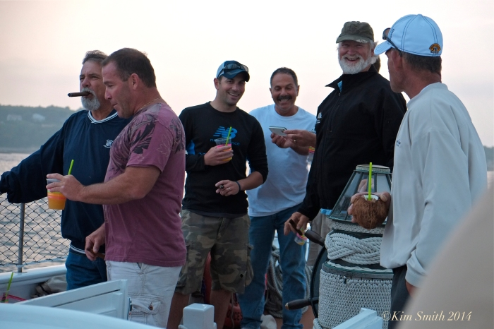 Schooner Lannon Cigar and Rum cruise ©Kim Smith 2014