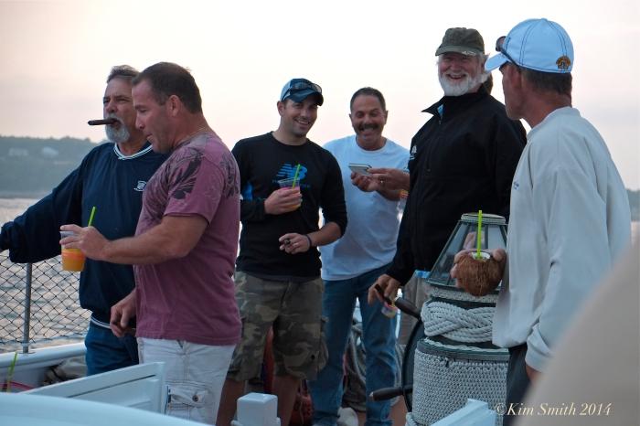 Schooner Lannon Cigar and Rum cruise ©Kim Smith 2014