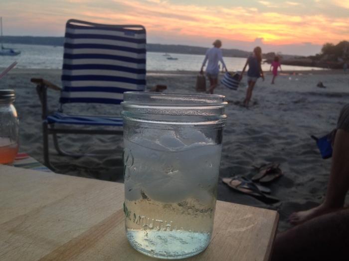 sunset niles beach