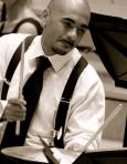 Ali Jackson playing B&W