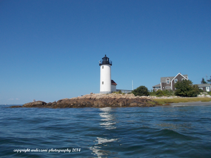 August 24, 2014 Annisquam Light house while kayaking