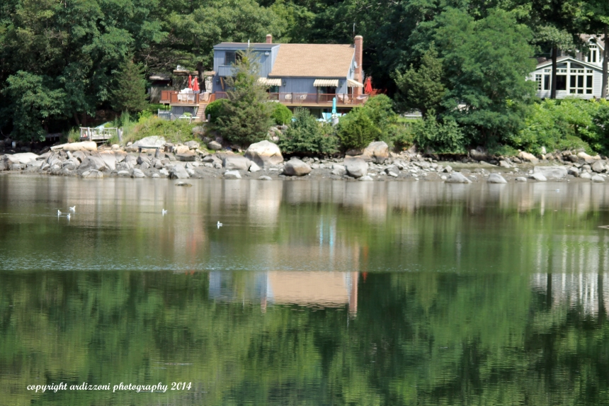 August 6, 2014 reflections Goose Cove