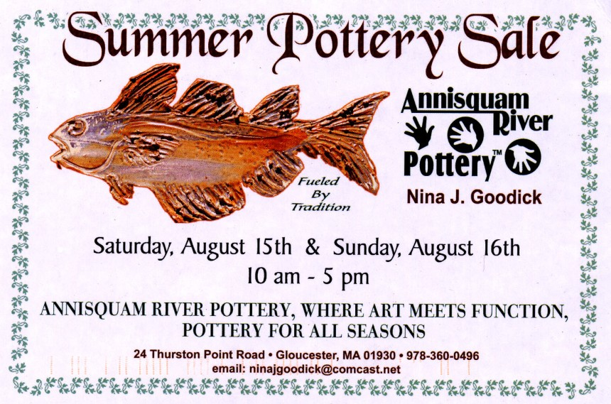 nina goodick_summer pottery sale