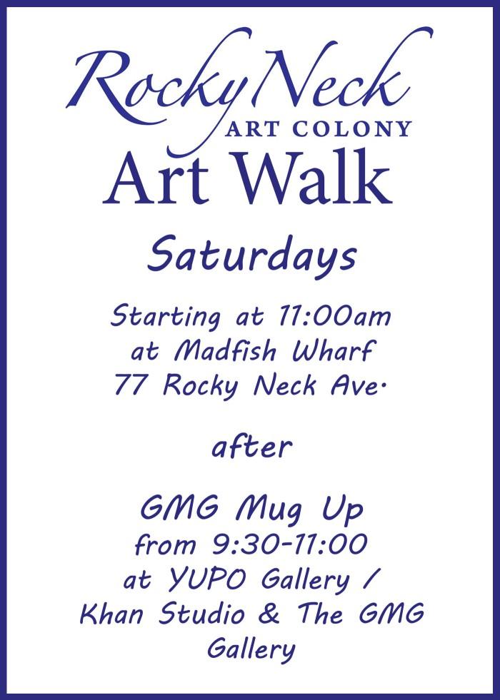 RNAC art walk flier