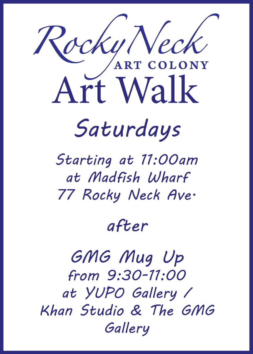 RNAC art walk flier