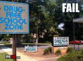 schoolsign-fails-drugfree