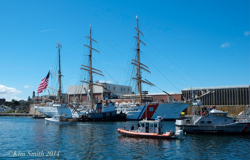 USCG Barque Eagle Gloucester MA -4 ©Kim Smith 2014
